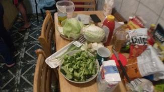 Bahan makanan yang siap diolah
